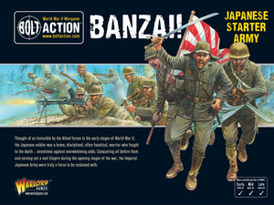 Bolt Action Banzai! Japanese Starter Army