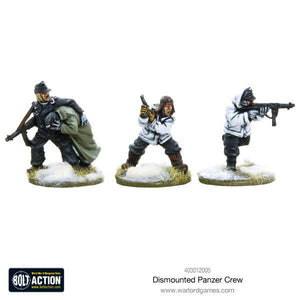 German Dismounted Panzer Crew