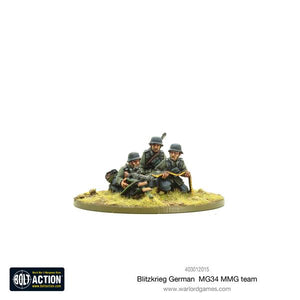 German Blitzkrieg German MG34 MMG Team