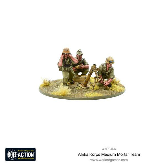 German Afrika Korps Medium Mortar Team