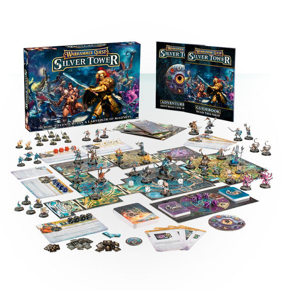 Warhammer Quest: Silver Tower (English)