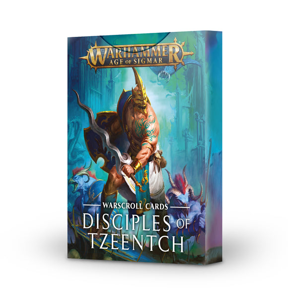 Disciples of Tzeentch: Warscroll Cards