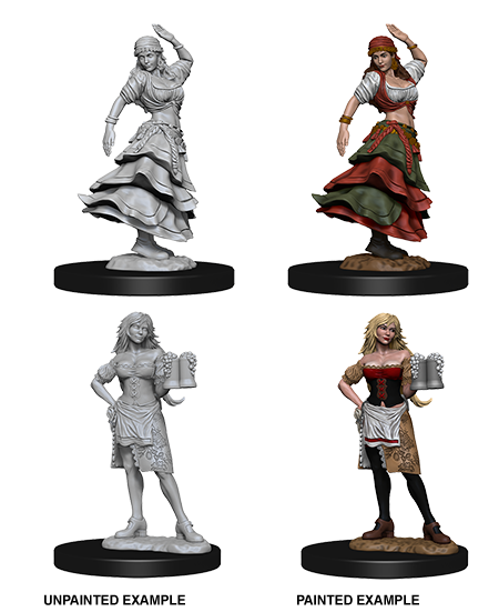 Pathfinder: Bartender/Dancing Girl