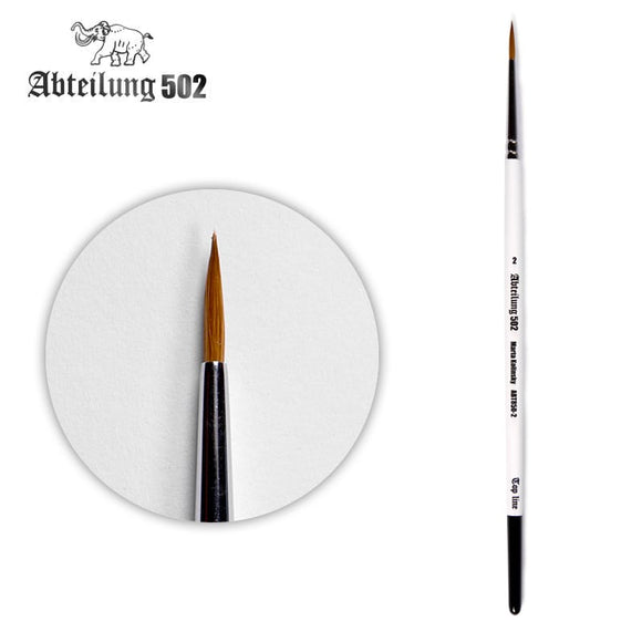 Abteillung502: Marta Kolinsky Brushes (Size 2 to 10/0)