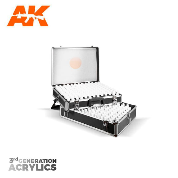 AK Interactive 3rd Gen Acrylics Briefcase (236 Colors)