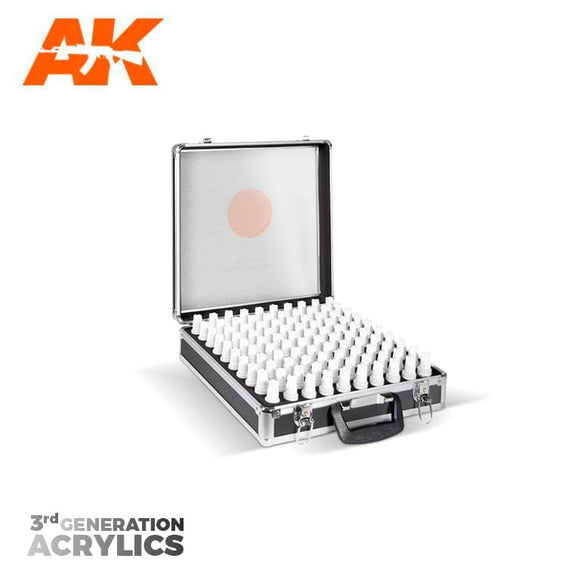 AK Interactive 3rd Gen Acrylics Briefcase (100 Colors)