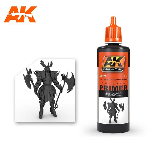AK: Black Primer (60mL)