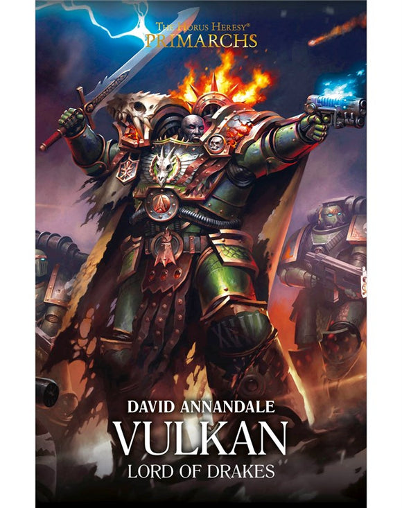 BLACK LIBRARY - Primarchs: Vulkan - Lord of Drakes