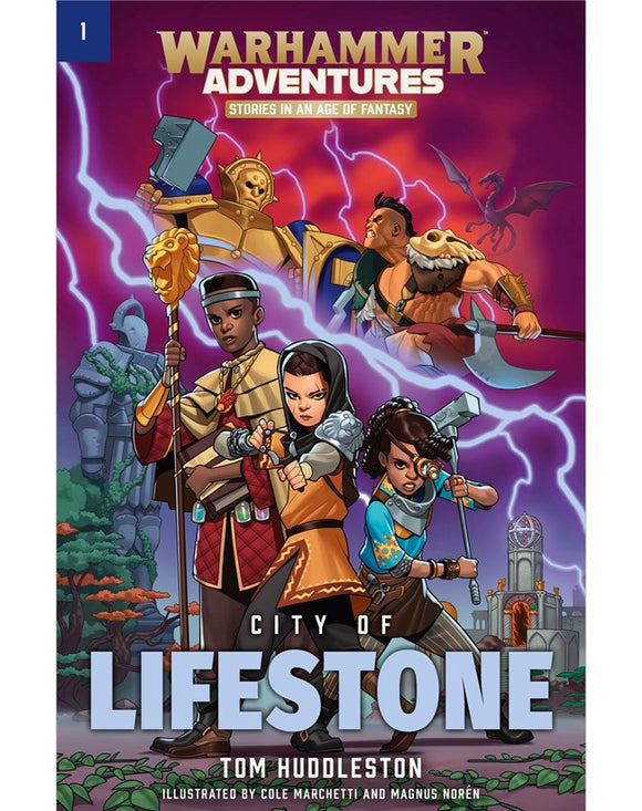 BLACK LIBRARY: Warhammer Adventures - City of Lifestone