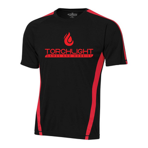 Torchlight Jersey - Black/Red