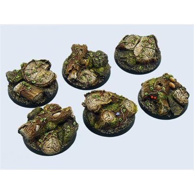 Scenic Bases: Forest, Round 40mm (2)