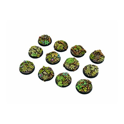 Bases: Jungle, Round 25mm (5)
