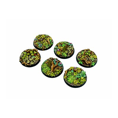 Scenic Bases: Jungle, Round 40mm (2)