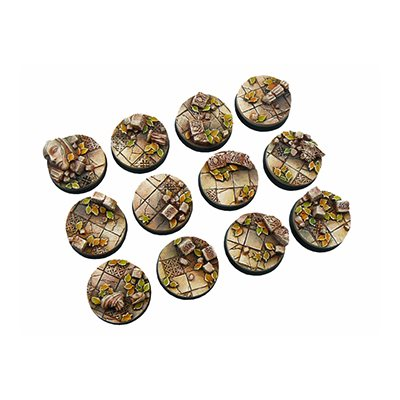 Bases: Ancient, Round 25mm (5)