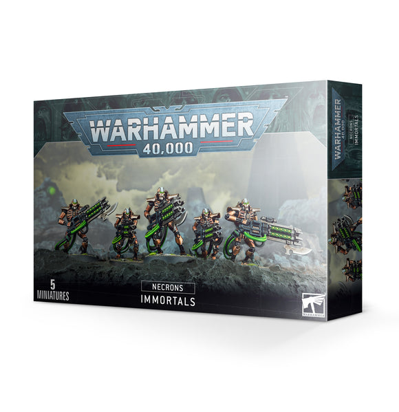 Necrons: Immortals / Deathmarks