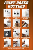 AK:  Hobby Tools - Paint Doser Bottles 4x30mL