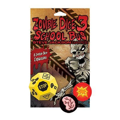 Zombie Dice: School Bus