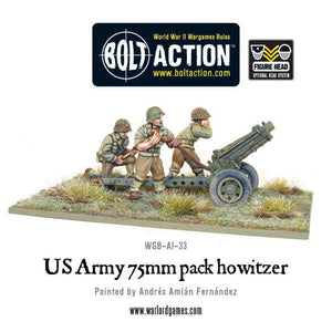 US 75mm Pack Howitzer