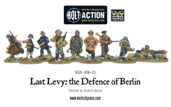 German Last Levy. The Defence of Berlin