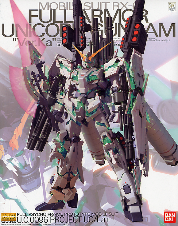 MG RX-0 Full Armor Unicorn Gundam (Ver. Ka)