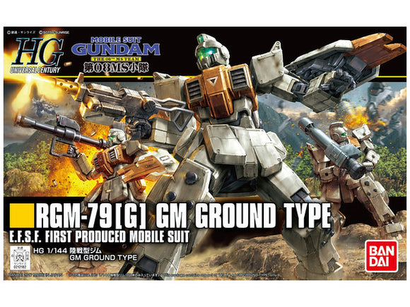 HGUC #202 GM Ground Type