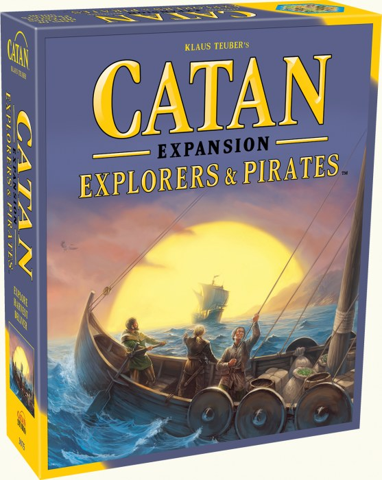 Settlers of Catan: Explorers & Pirates