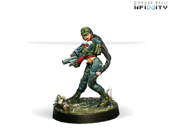 Ariadna: Chasseurs (Adhesive Launchers)