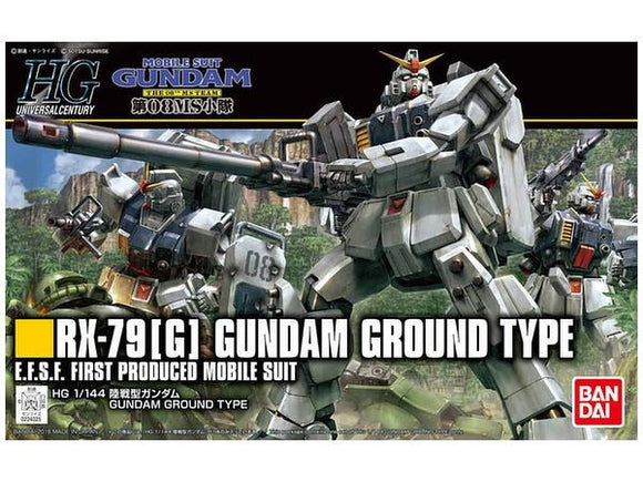 HGUC #210 Gundam Ground Type