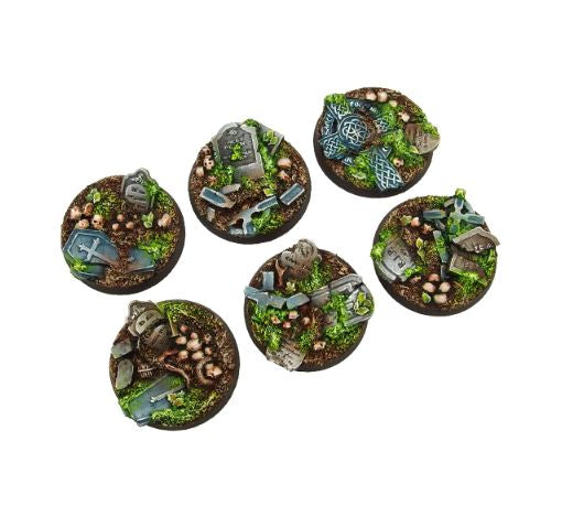 Scenic Bases: Graveyard, Round 40mm (2)