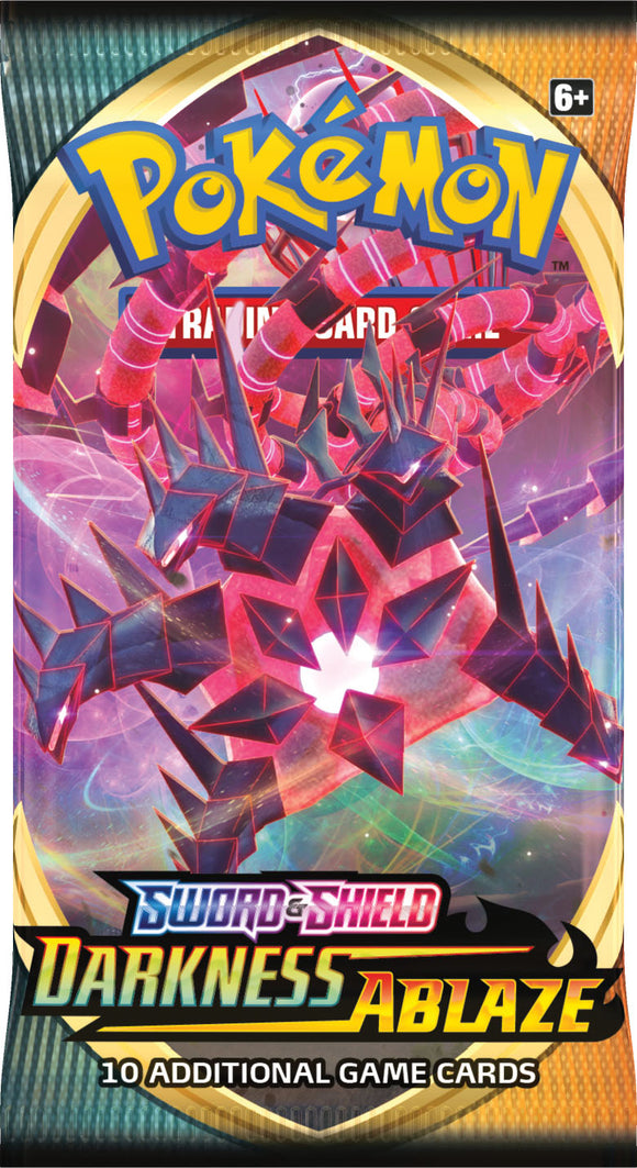 Pokemon: Sword & Shield - Darkness Ablaze Booster