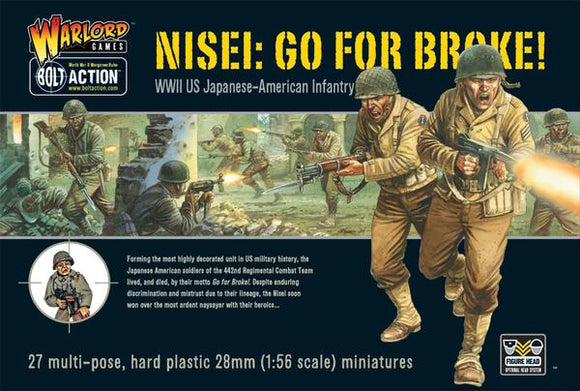 US Go For Broke! Nissei Infantry