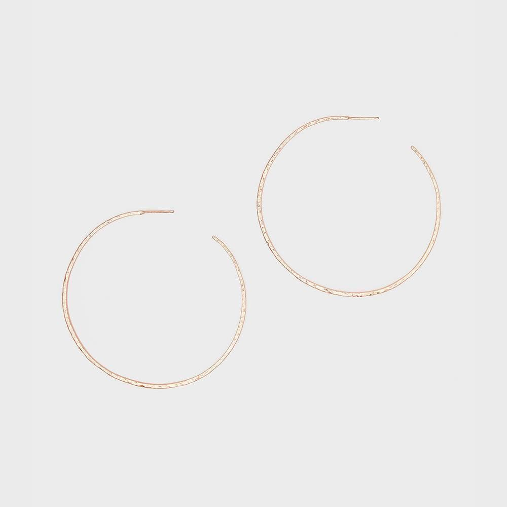 Gorjana Jewelry Taner XL Hoop Earrings