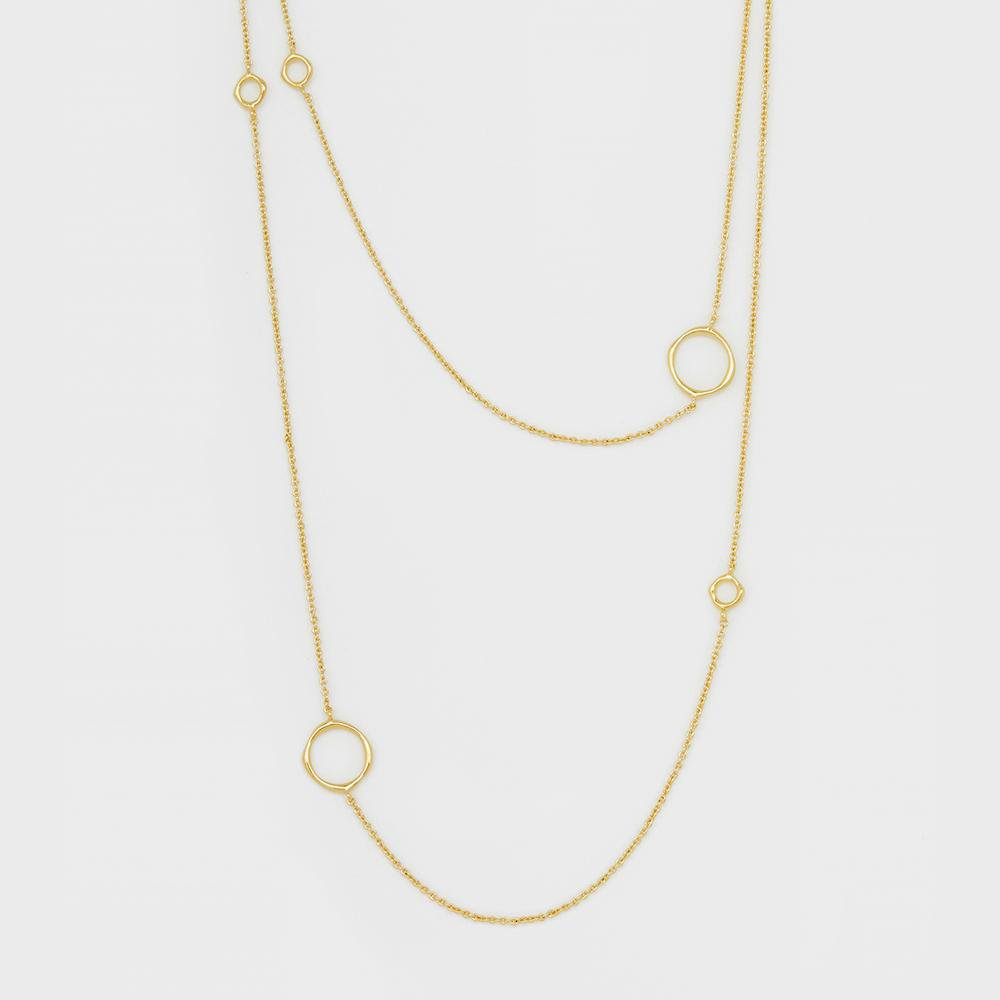 Gorjana Jewelry Gold Quinn Delicate Wrap Necklace