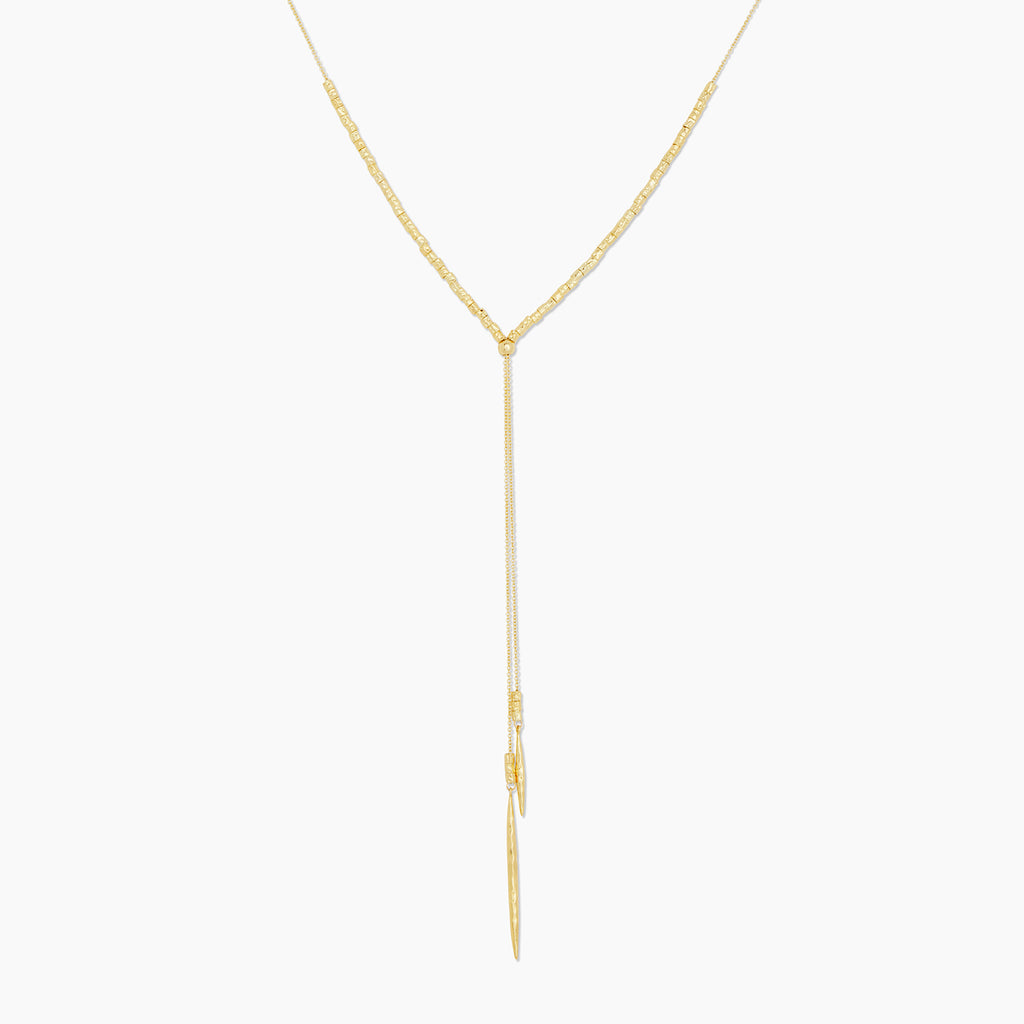 Gold | gorjana jewelry | Laguna Adjustable Necklace