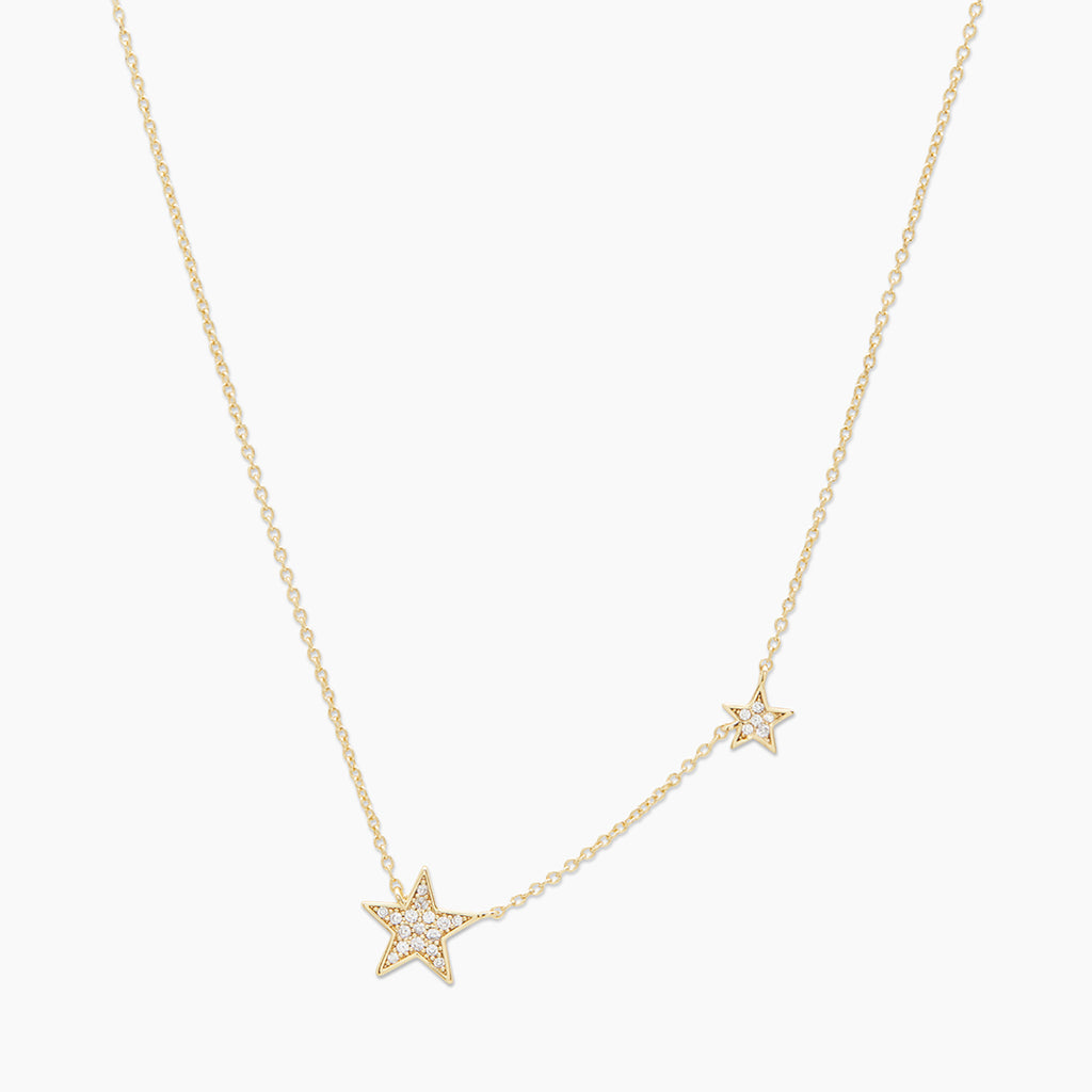 Gold | gorjana Jewelry | Gold Super Star Shimmer Necklace