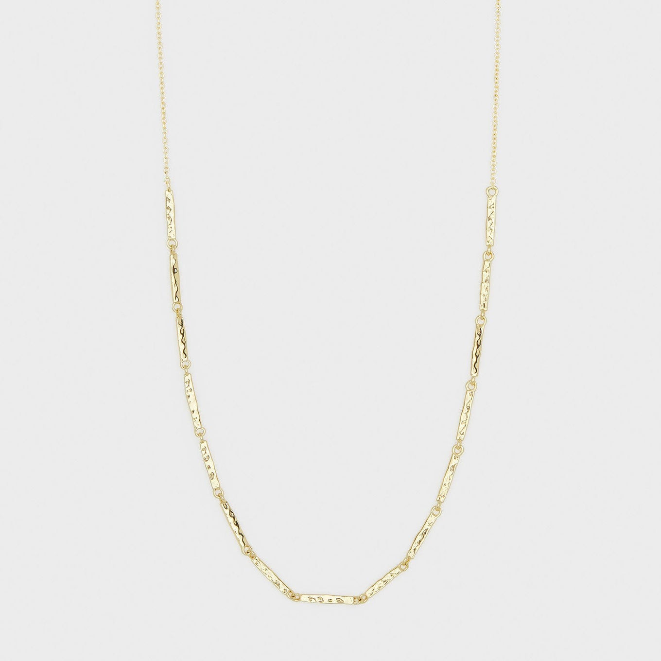 gorjana jewelry gold bar necklace, Balboa Bar Necklace