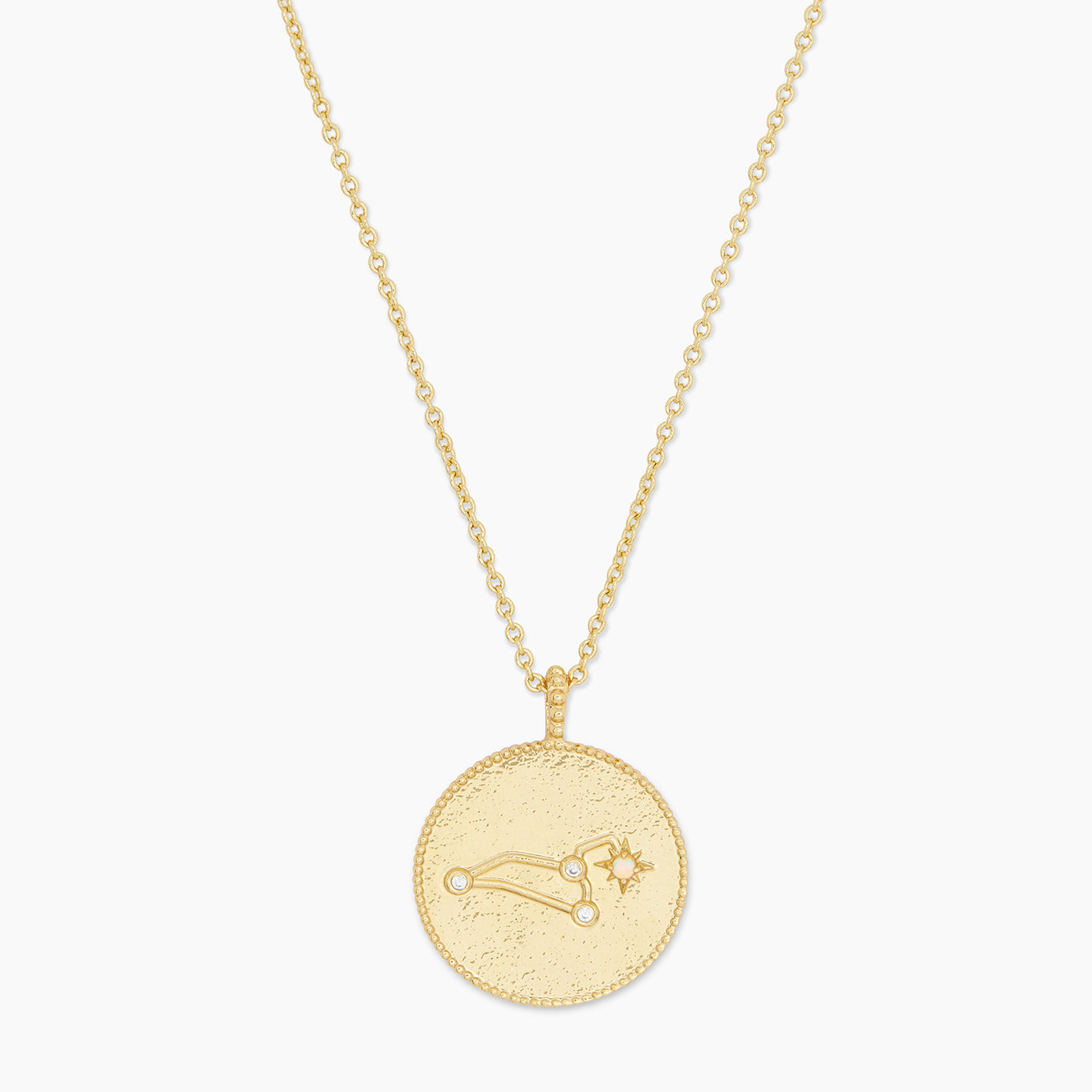 Astrology Coin Necklace (Leo)
