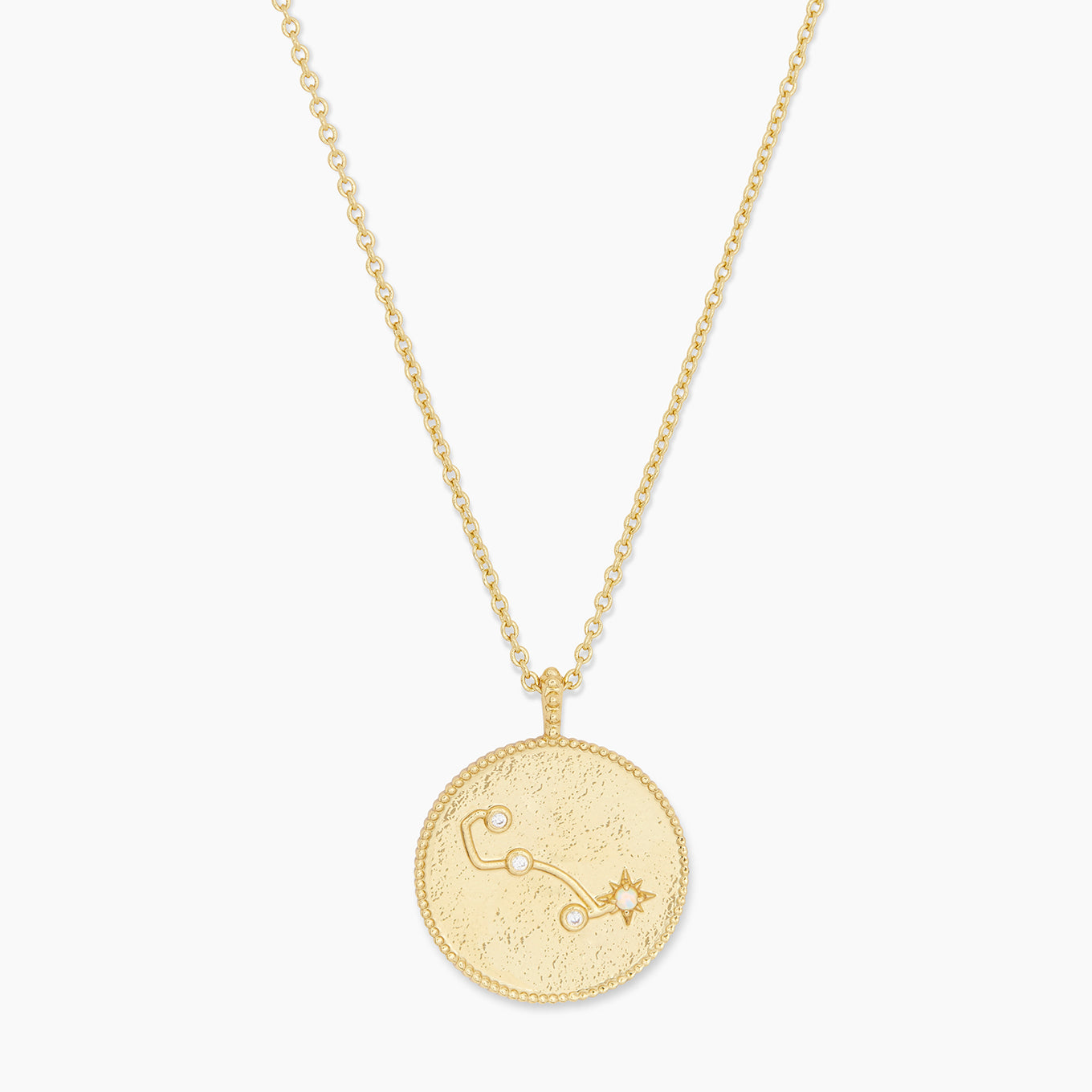 Astrology Coin Necklace (Scorpio)