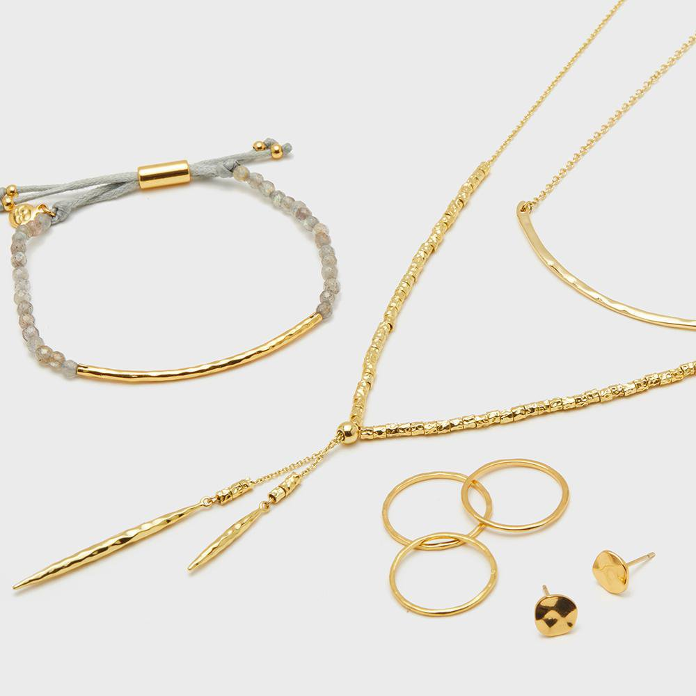 Gorjana Jewelry Gold jewelry gift set