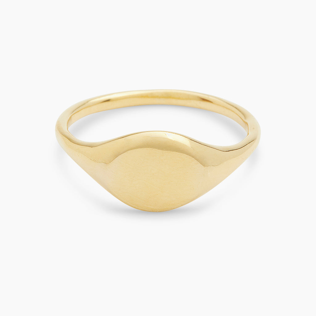 Gold | Gorjana Jewelry Gold Bespoke engravable ring
