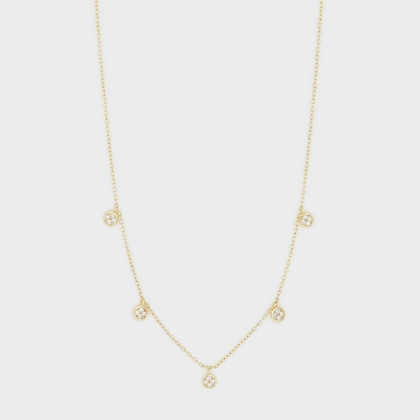 gorjana Jewelry Gold Pristine Necklace