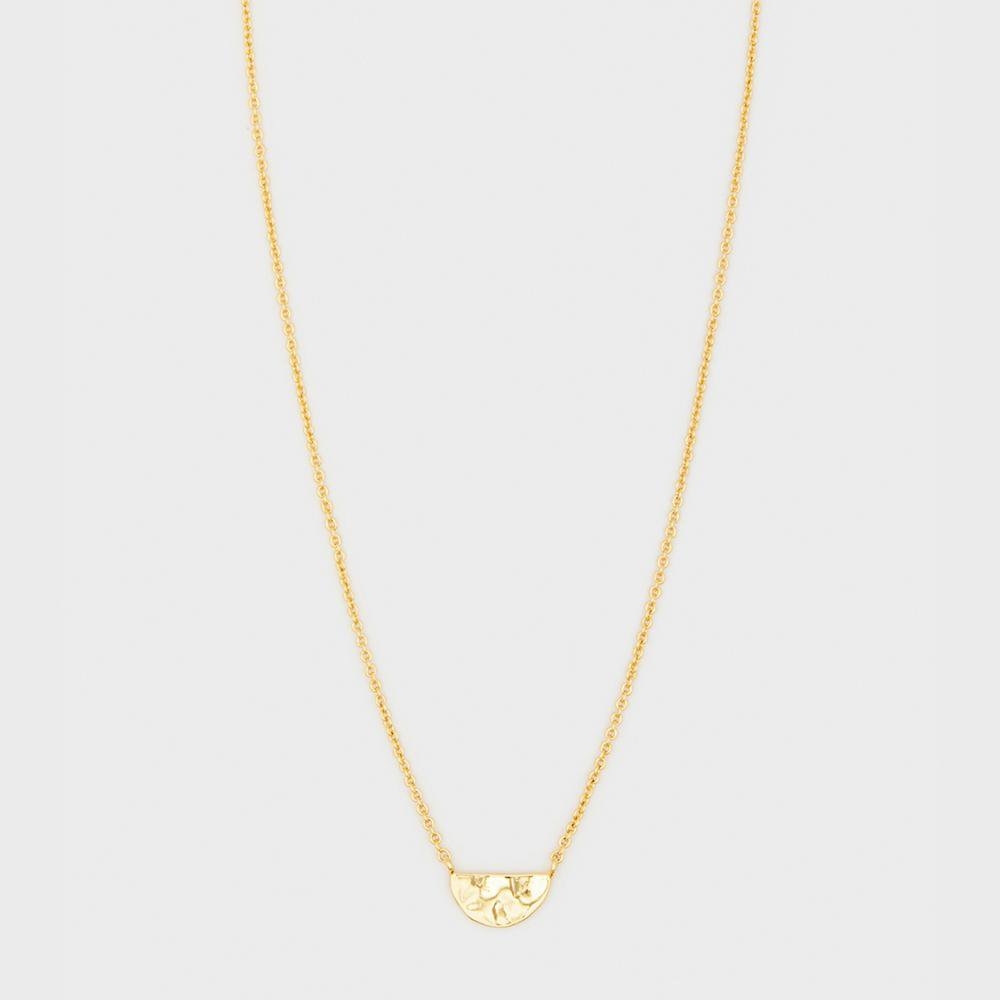 Gorjana Jewelry Gold Luca Charm Necklace