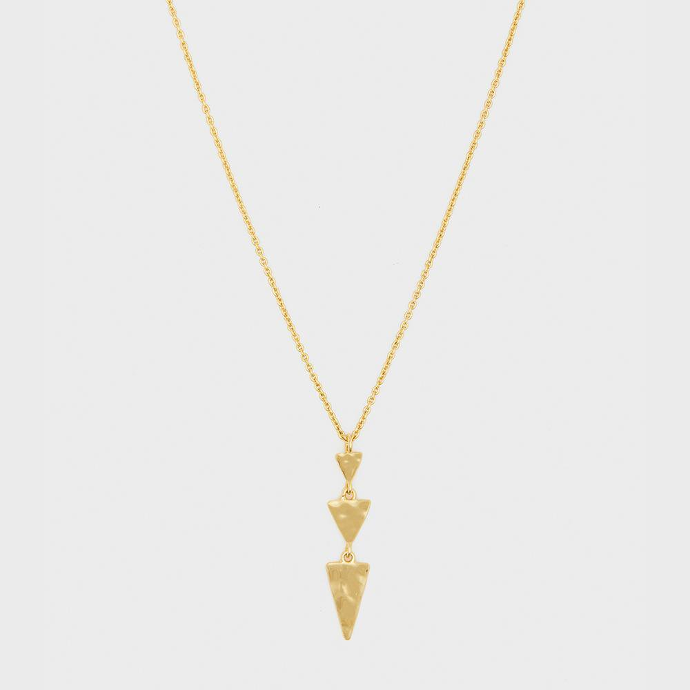 Gorjana Jewelry Luca Tiered Triangle Necklace