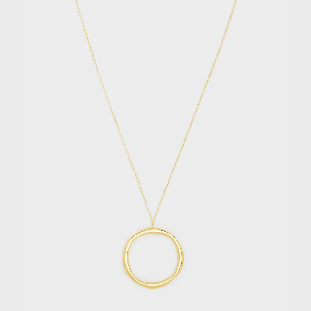 Gorjana Jewelry Gold Quinn Short Necklace