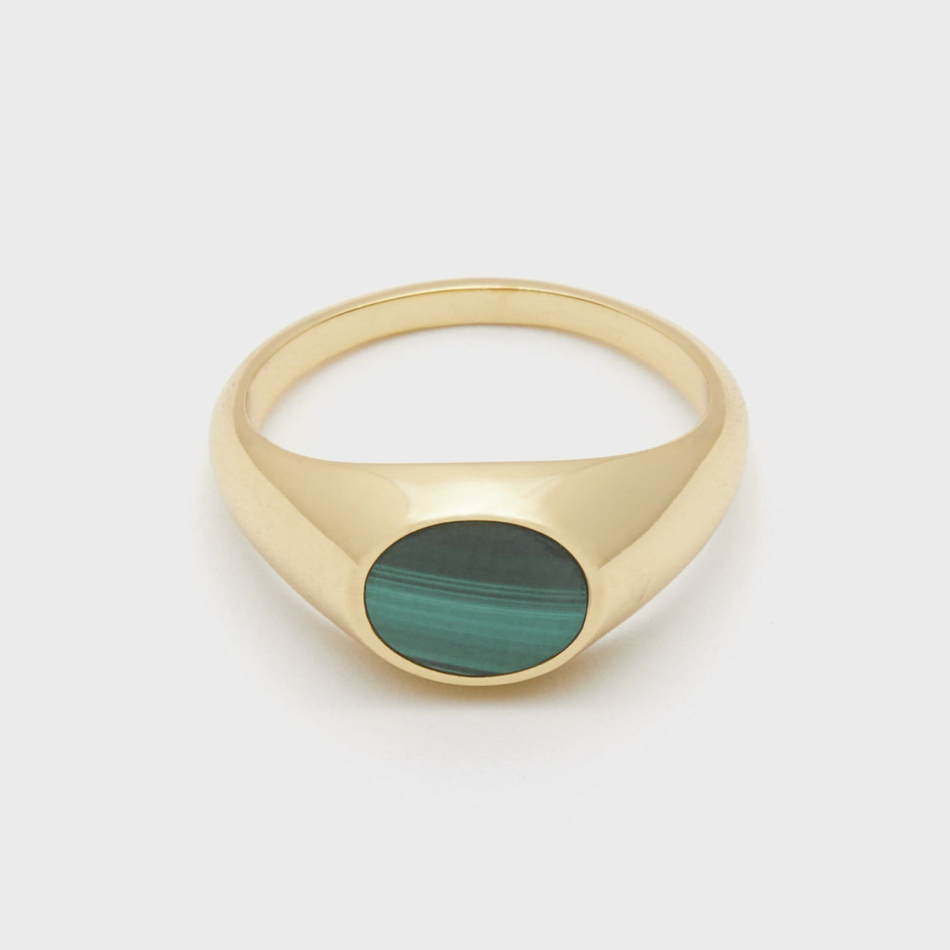Gorjana Jewelry Malachite Signet Ring, Hayes Signet Ring
