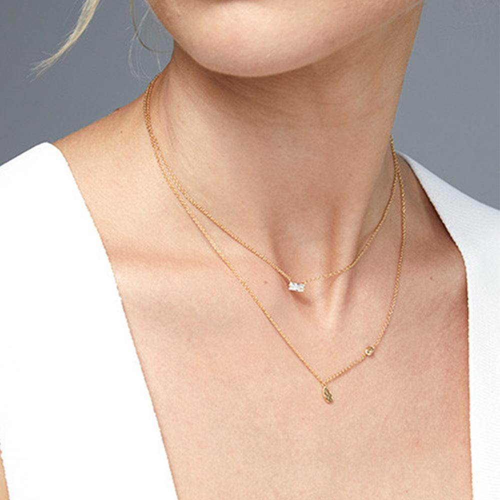 Gorjana Jewelry Gold Amara Solitaire Necklace, baguette necklace, solitaire diamond necklace, bridal jewelry, bridesmaid necklace, wedding day jewelry, wedding necklace, bridesmaid gifts, gift for the bride, wedding day jewelry for the bride, wedding day jewelry for bridesmaids, affordable wedding jewelry, trending bridal jewelry, bride to be necklace, bridesmaid jewelry, gifts for her, affordable gift for her, thoughtful gift for her, jewelry gift for mom