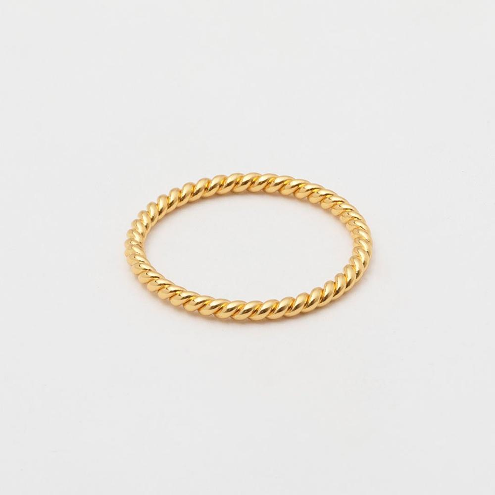 Gorjana Jewelry Gold Ring, Marina Pinky Ring