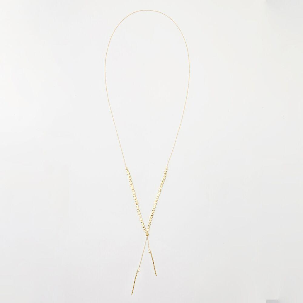 Gorjana Jewelry Gold Adjustable Necklace, Chloe Adjustable Necklace