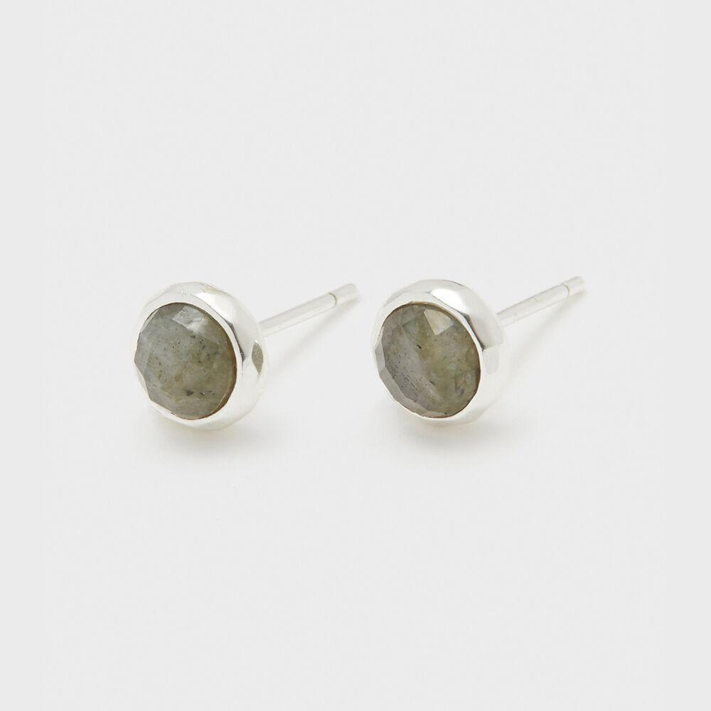 Gorjana Jewelry Power Gemstone Studs for Balance