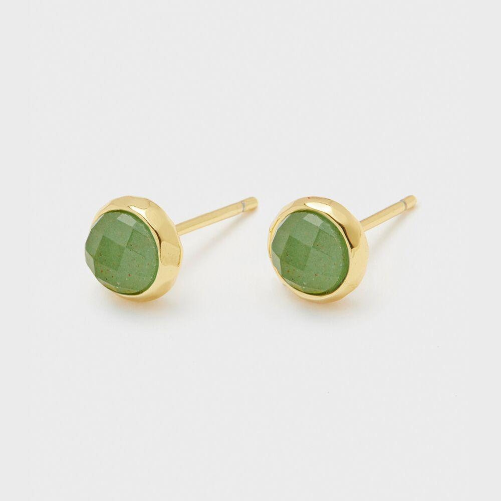 Gorjana Jewelry Power Gemstone Studs for Luck
